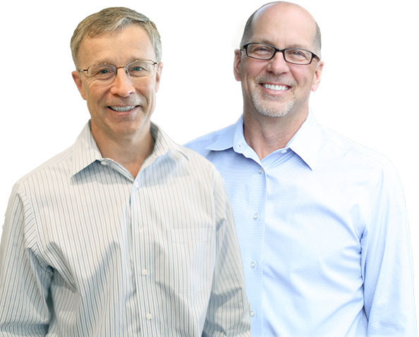 Lake Forest dentist, Dr. Campbell & Dr. Schmidt